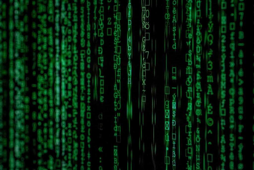matrix dati crittografia virus antivirus