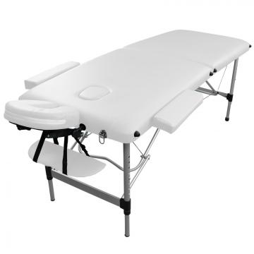 table de massage alu 2 zones pliante differents coloris