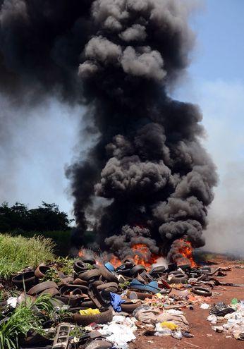 """El alergista calificó la quema de basura como un """"deporte paraguayo""""."""