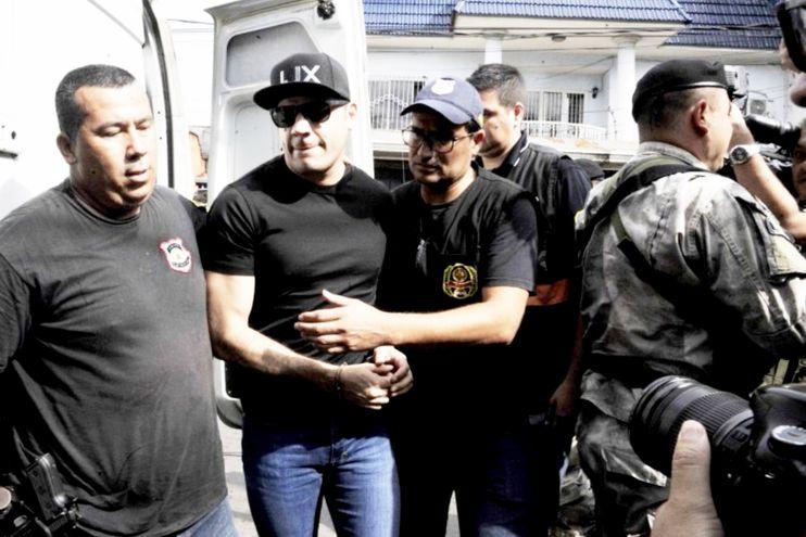 Reinaldo Javier Cabaña, alias Cucho,  es el principal acusado en el caso Berilo y está preso desde setiembre del año pasado.