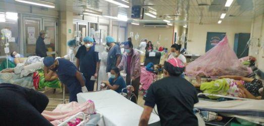 Hospitales están saturados y no solo por coronavirus - Nacionales - ABC  Color