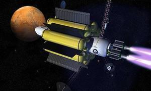 Una compañía desarrolla un motor de cohete para viajar a Marte en 39 días