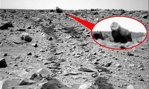 ¿Un gorila en Marte?
