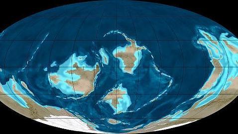La Tierra antigua, como la actual