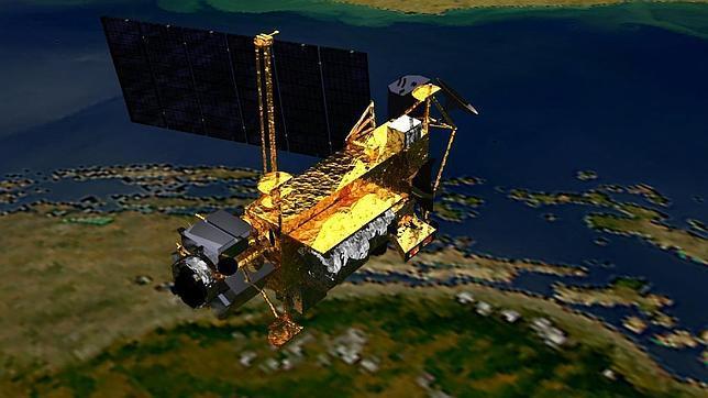 La NASA advierte de la caída de un gran satélite contra la Tierra