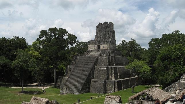 Templo del Reino de Tikal