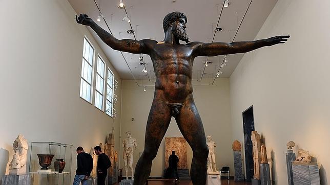 Los arqueólogos griegos salen a la calle contra la política sobre el patrimonio cultural
