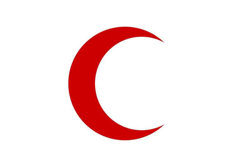 Resultado de imagen para media luna roja y leon y son rojos