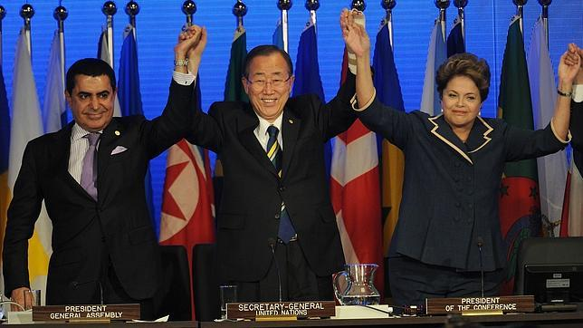Los líderes aprueban el documento de Río+20 criticado por la Unión Europea