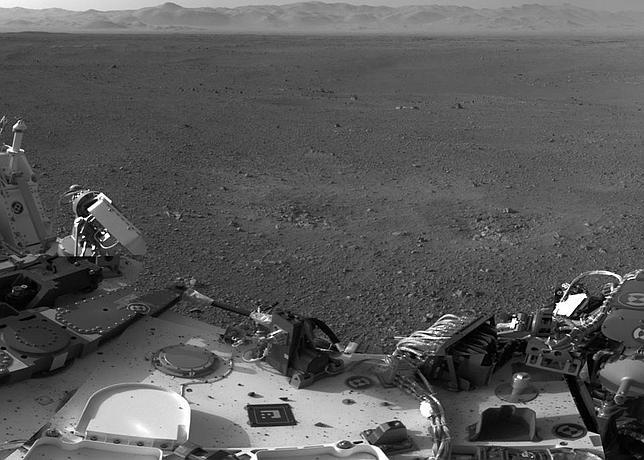 El Curiosity cambia de «cerebro» y envía nuevas fotos de Marte
