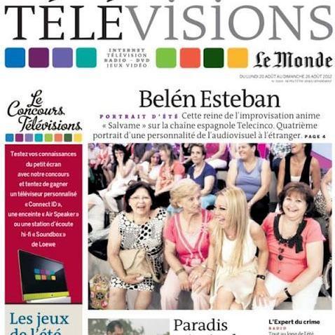 """Article de """"le Monde sur Belén Esteban"""""""