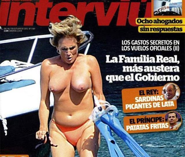 El Topless De Mercedes Mila En Interviu
