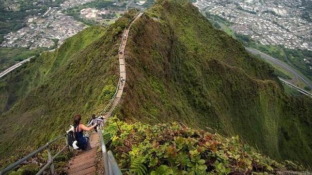 Diez impresionantes escaleras para los amantes del vértigo