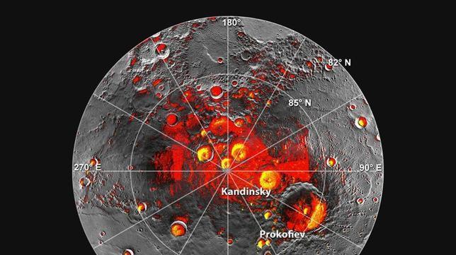 ¡Sorpresa! En Mercurio hay hielo y compuestos orgánicos