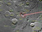 Dos naves de la NASA se estrellarán en la Luna el lunes