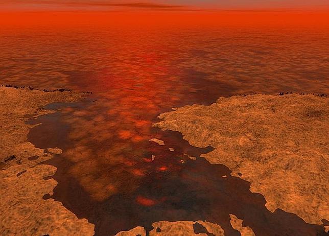 Descubren hielo flotante en los mares de Titán