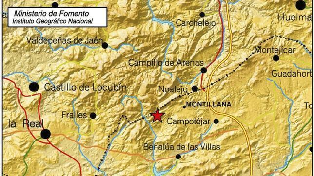 El Colegio de Geólogos cree que los terremotos de Granada y Jaén no tienen por qué desembocar en otro mayor
