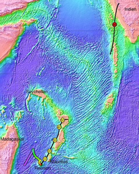 Descubren los restos de un antiguo continente bajo el océano Índico