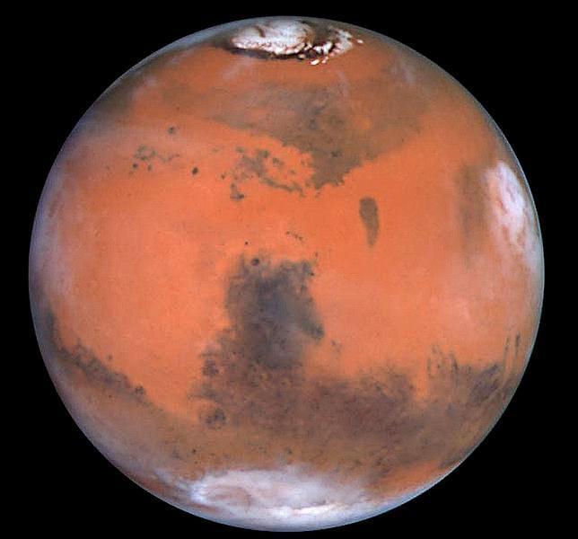 Un cometa puede chocar contra Marte en 2014
