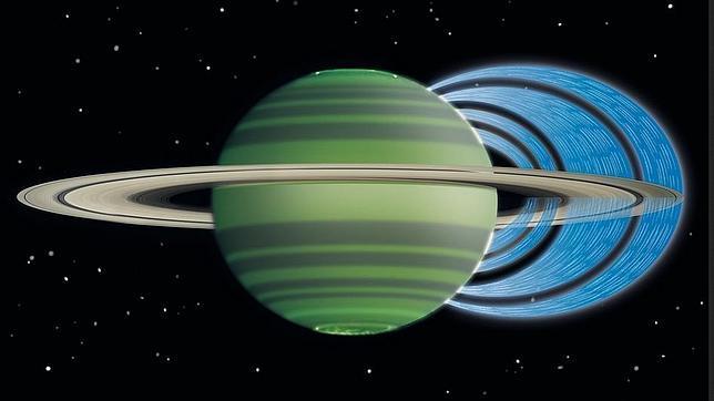 Descubren que cae lluvia desde los anillos de Saturno
