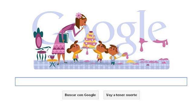 Feliz Día de la Madre también desde Google