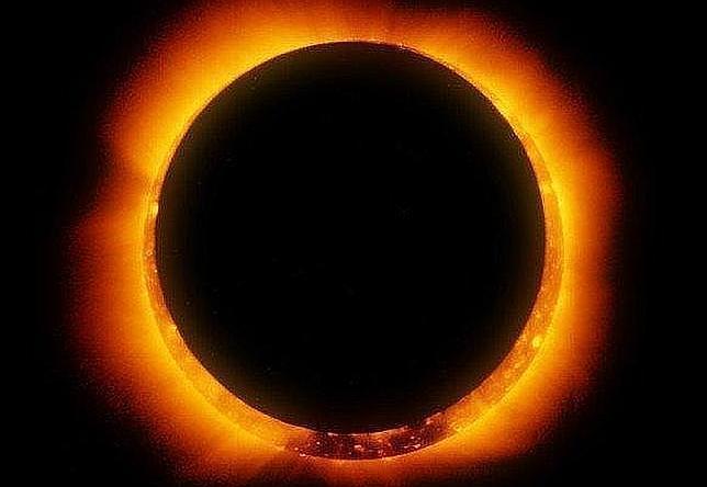 Eclipse solar anular: un anillo de fuego brillará el jueves en las antípodas