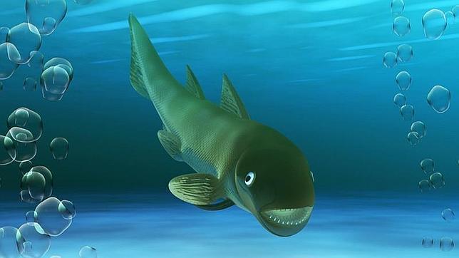 Descubren en Teruel un pez marino que  vivió hace 400 millones de años