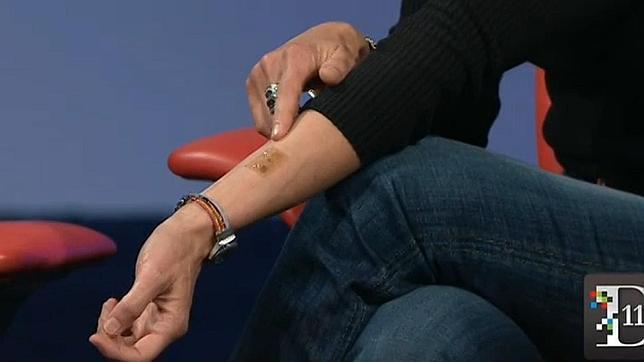 Motorola quiere cambiar los «passwords» por tatuajes electrónicos