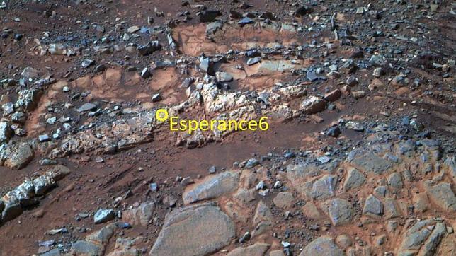 El Opportunity halla viejos indicios de agua potable en Marte