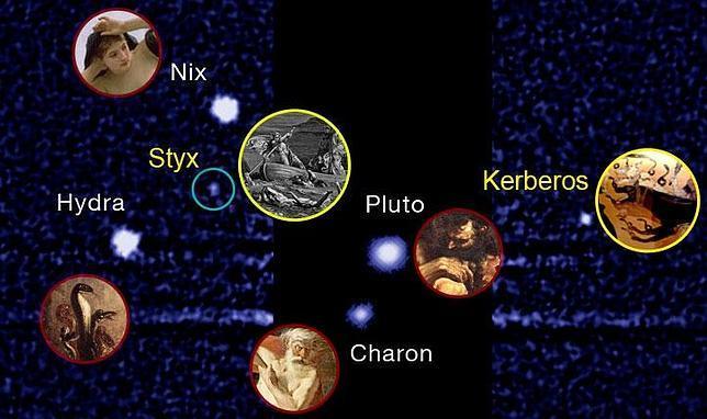 Kerberos y Estigia, las nuevas lunas de Plutón ya tienen nombres oficiales