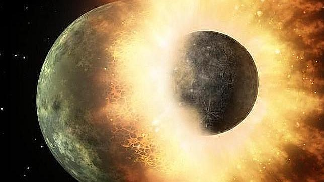 La Luna, formada en una explosión nuclear natural