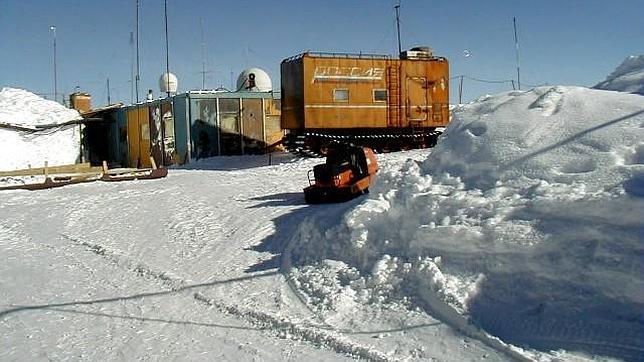 A 89,2 grados bajo cero en Vostok