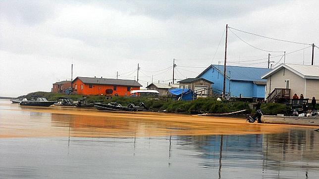 Un pueblo de Alaska desaparecerá bajo el océano en una década