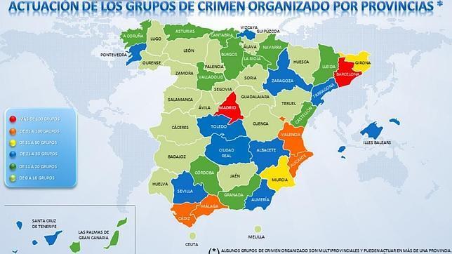 España, de «puerta de entrada» de la droga a «muro de contención»