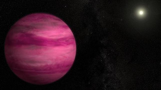 El planeta con menor masa jamás fotografiado