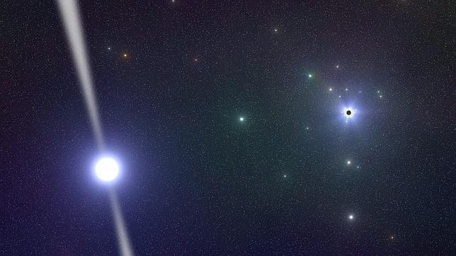 Nuevas pistas sobre el agujero negro más cerano a la Tierra