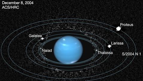 Encuentran una luna perdida de Neptuno