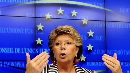 La vicepresidenta de la CE pide que se cree un servicio de espionaje europeo