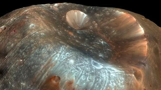 La luna que salió de Marte