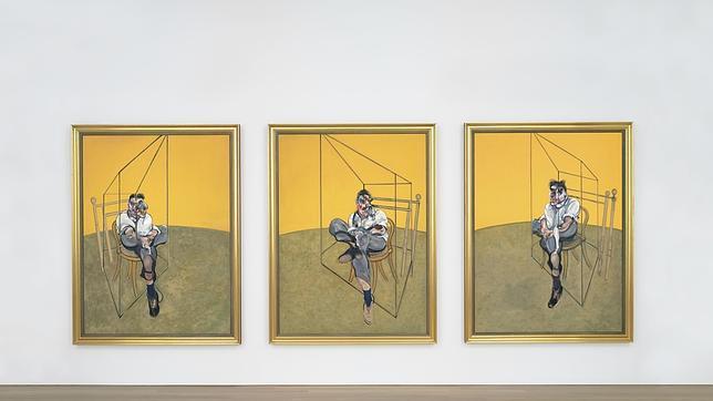 Francis Bacon bate récords con el tríptico dedicado a su amigo Lucian Freud