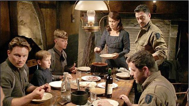 La curiosa cena de Navidad entre soldados nazis y americanos