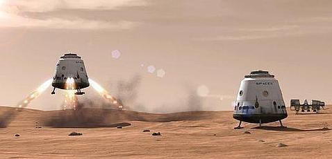 Transportador de humanos a Marte
