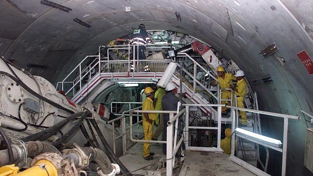 Máquina excavadora de túneles 'Teredo'