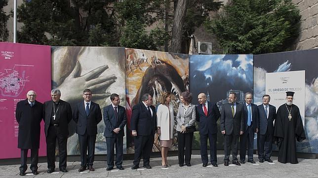 La Reina inaugura en Toledo la gran exposición sobre el Greco