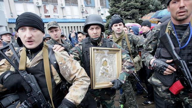 La ofensiva ucraniana no logra desalojar a los prorrusos atrincherados en comisarías
