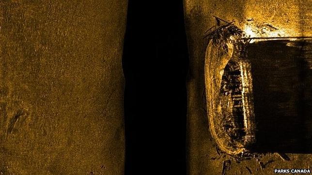 Canadá confirma que los restos hallados en el Ártico pertenecen al navío Erebus de la Expedición Franklin