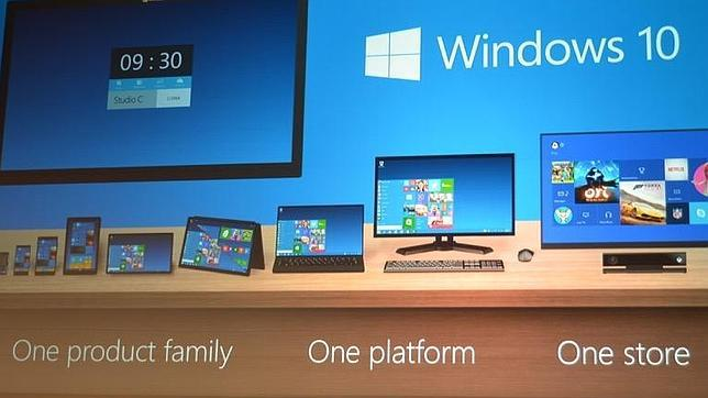 THE VERGE Windows 10 será compatible con toda la familia de dispositivos. ABC.es