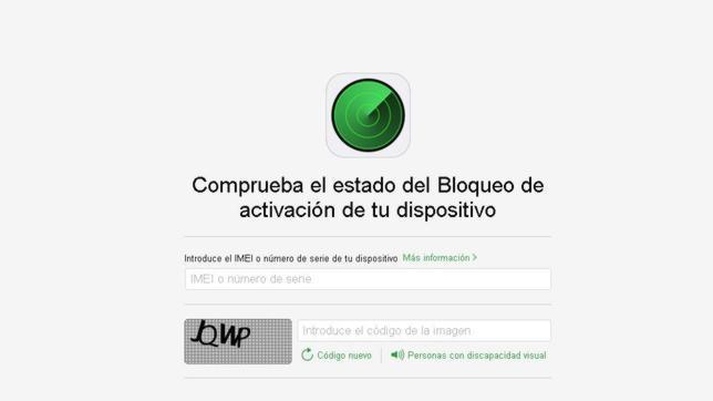 Apple lanza una herramienta para verificar si un iPhone es robado