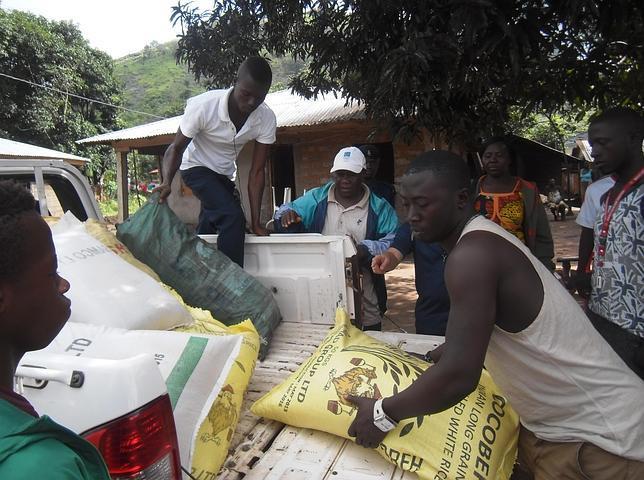 El caso de las tres casas infectadas de ébola