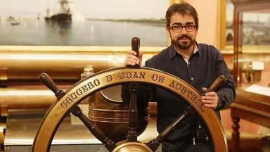 Jesús G. Calero:«Un barco hundido es un libro que espera que lo abran con cuidado y nos lo lean»